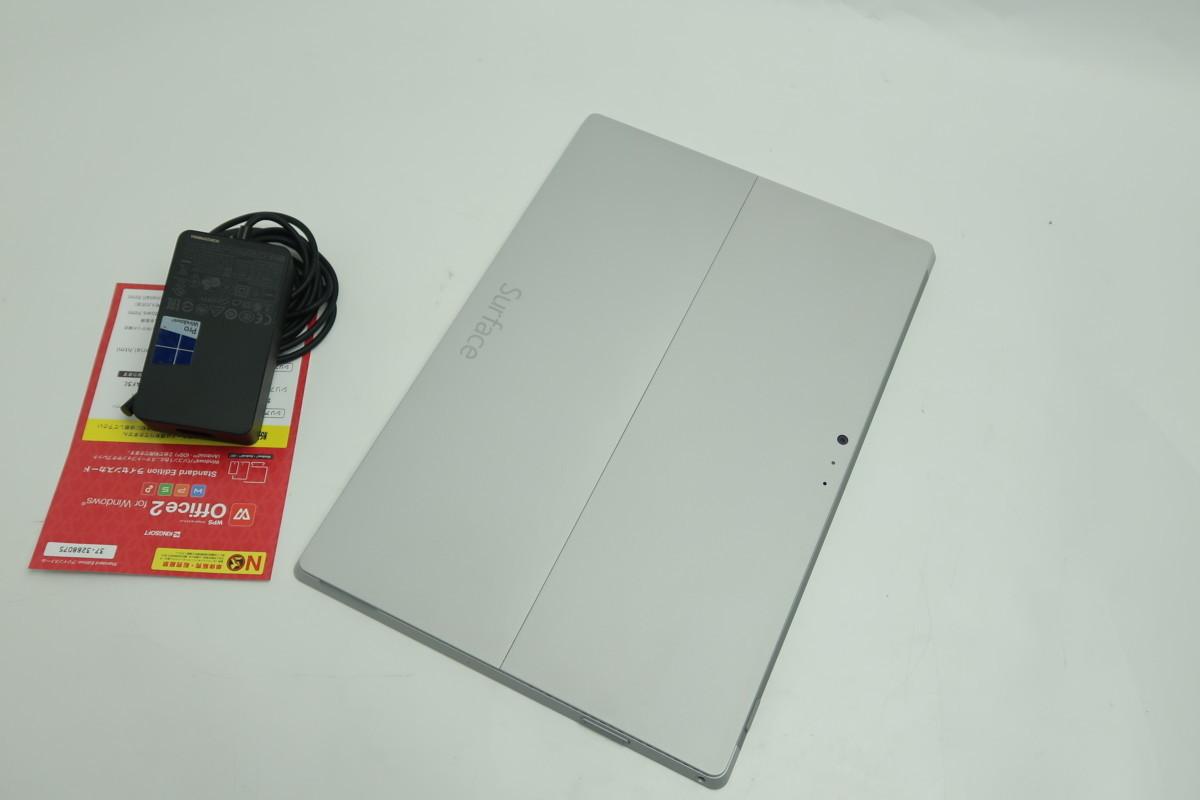 07-2804】 良品】タブレット Microsoft SURFACE Pro3 1631 Core i3-4020Y 1.50GHz 4GB SSD 64GB 12型QHD Windows 10 カメラ搭載_画像7