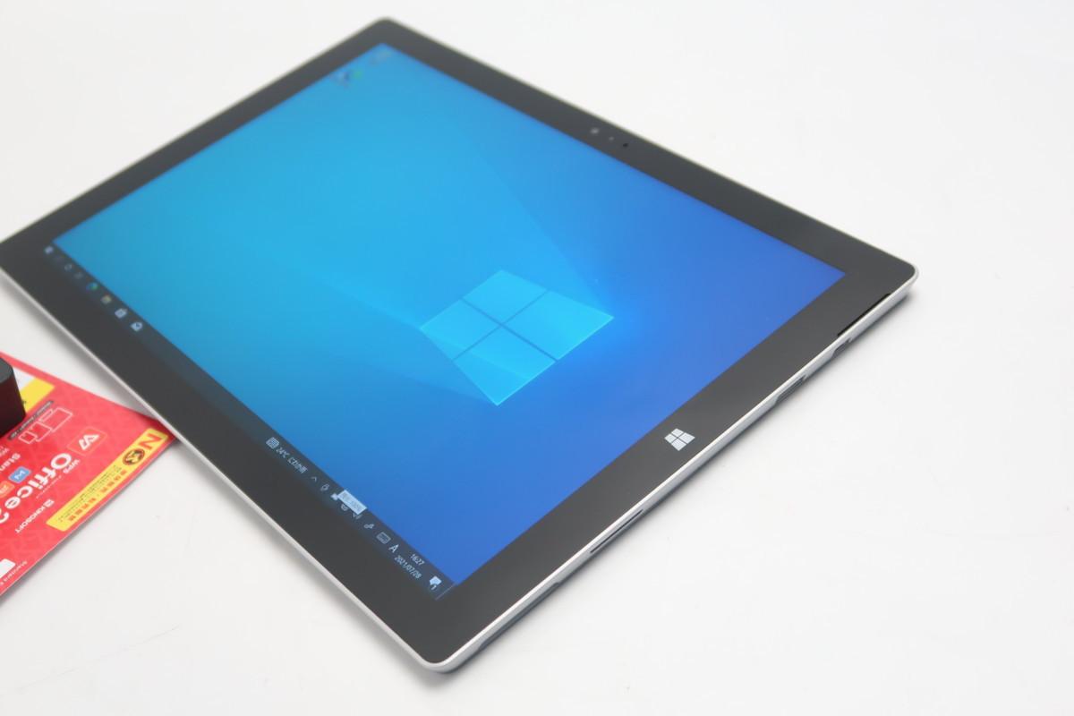 07-2804】 良品】タブレット Microsoft SURFACE Pro3 1631 Core i3-4020Y 1.50GHz 4GB SSD 64GB 12型QHD Windows 10 カメラ搭載_画像9