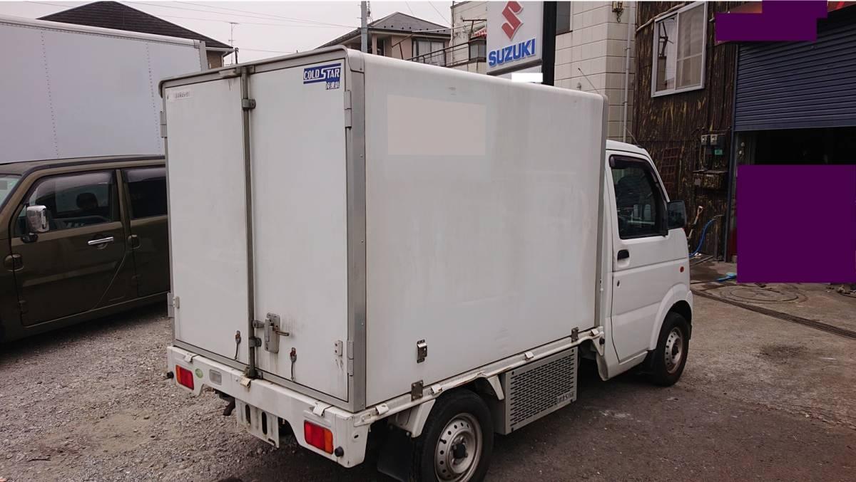 「冷凍冷蔵-5℃~+30℃★冷凍冷蔵車★軽トラ★キャリイOEMスクラムトラック」の画像3