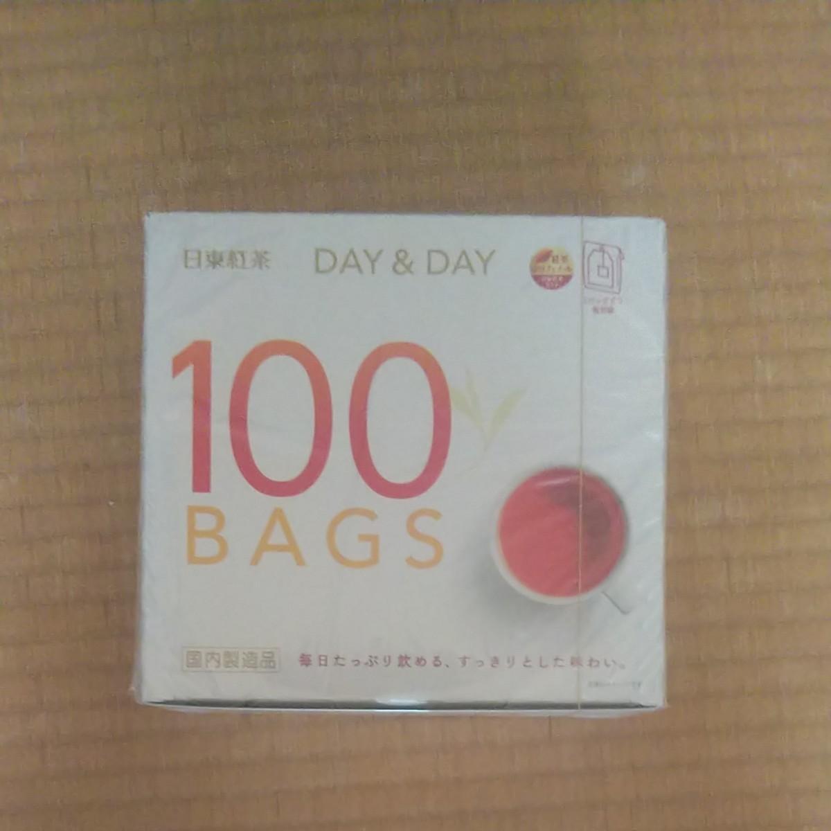 日東紅茶 デイ&デイ ティーバッグ 1箱 (100バッグ入)