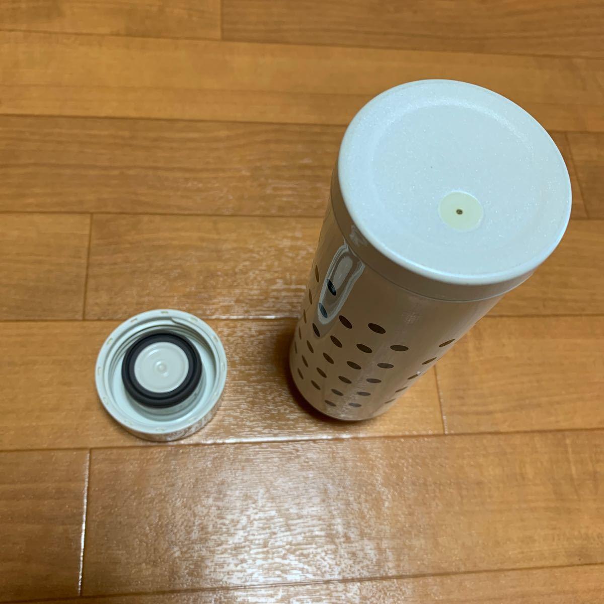 象印 ステンレスボトル 300ml   水筒                          ステンレスマグ 水玉 スリムボトル