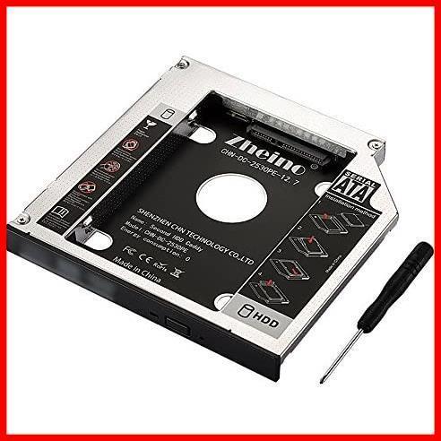 【新品特価】 2nd 12.7mmノートPCドライブマウンタ Zheino ah088 セカンド CHN-DC-2530PE-12.7 光学ドライブベイ用_画像1