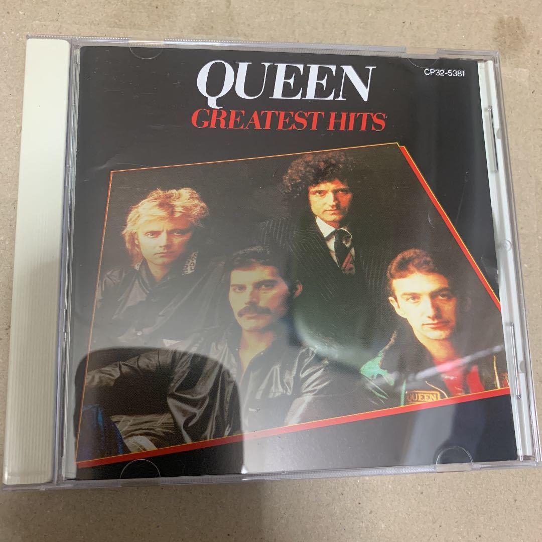 送料無料!貴重!美品!QUEEN GREATEST HITS 1988年盤 帯付き グレイテスト・ヒッツ ベスト盤
