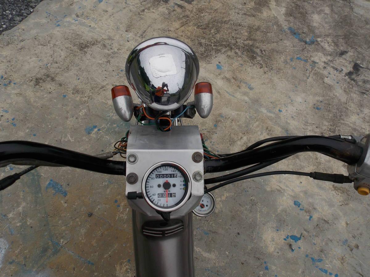 「ホンダ カブ50実働書付き カスタム車 4速セル付 C50」の画像3