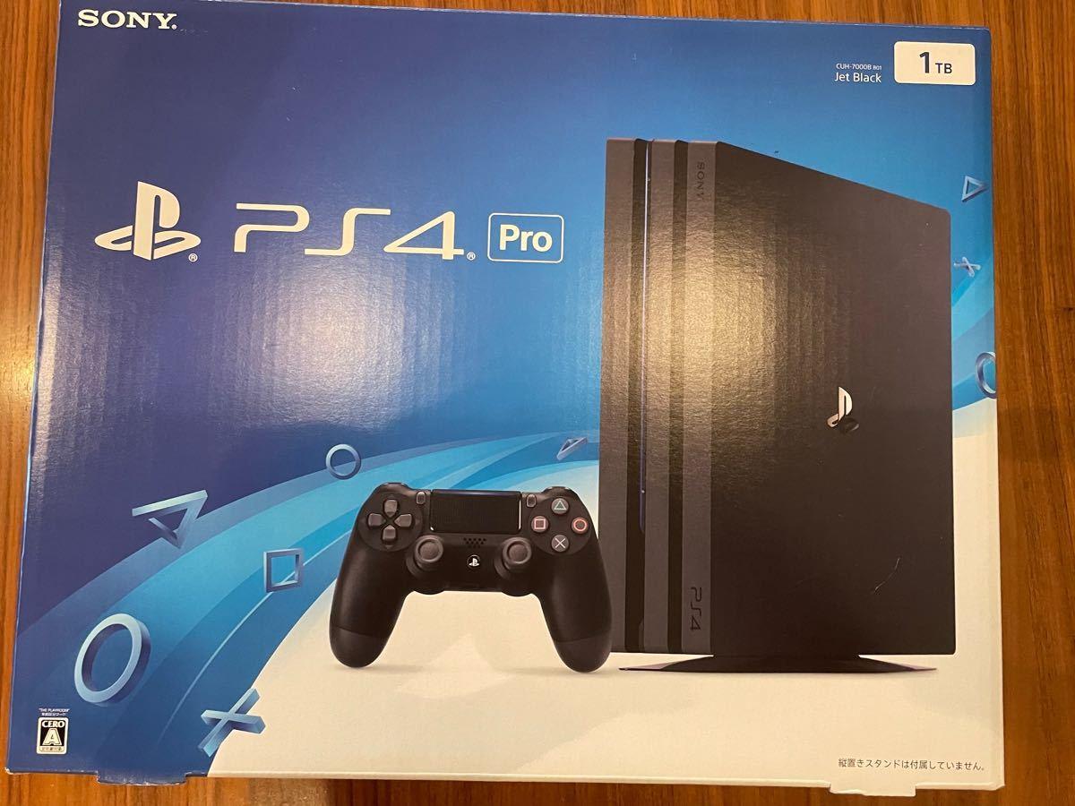 PS4 Pro ジェットブラック SONY