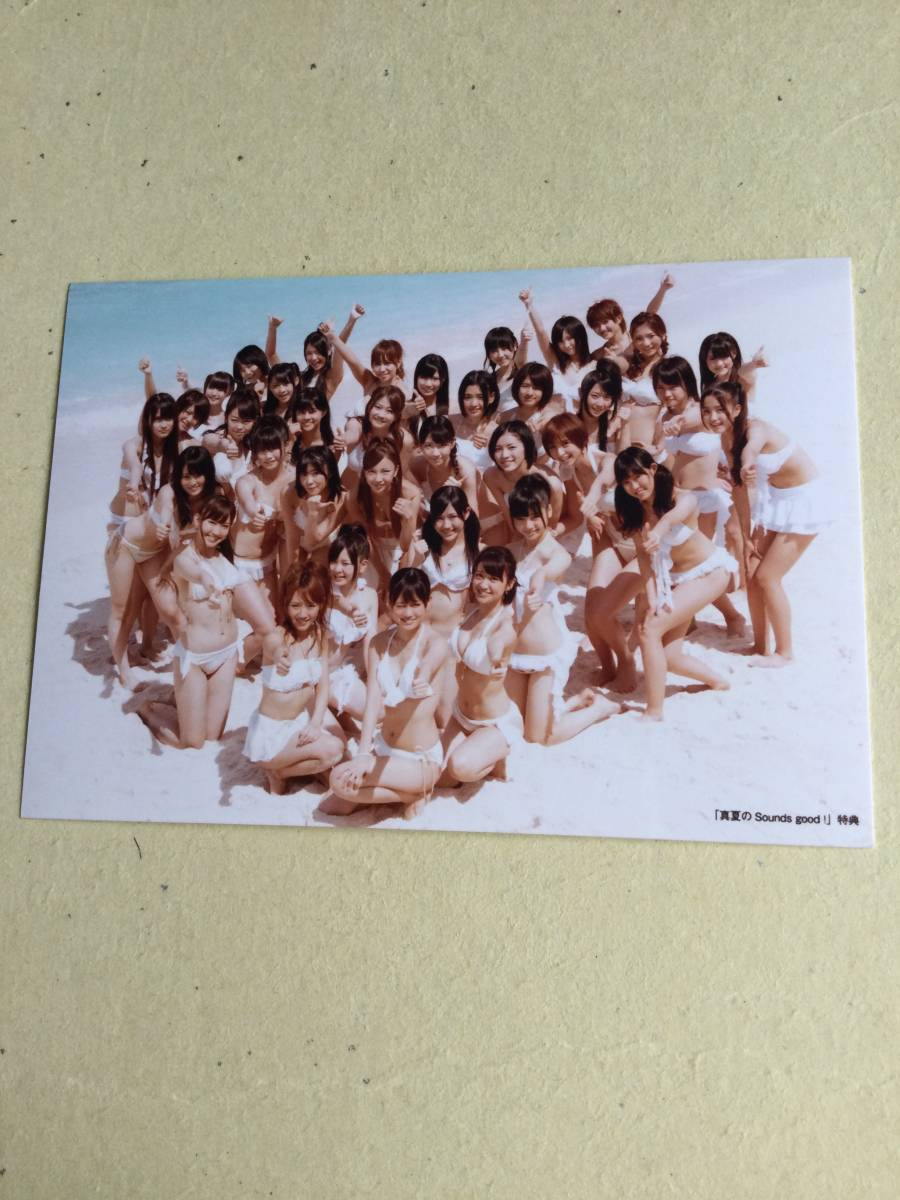 AKB48 真夏の Sound good! 特典写真 前田敦子/渡辺麻友/大島優子/柏木由紀/山本彩/松井玲奈/島崎遥香/他 他にも出品中 説明文必読_画像1