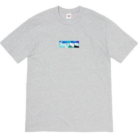 【S】21SS新品 Supreme シュプリーム Emilio Pucci エミリオプッチ Box Logo Tee ボックスロゴTシャツ Heather Grey/Blue グレー Small