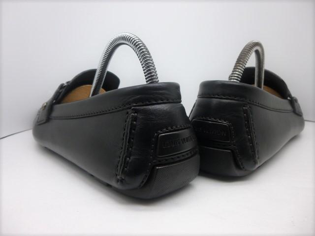 ◆本物保証◆ルイ・ヴィトン◆メンズ/モンテカルロ/ドライビング/ローファー/モカシン/スニーカー/シューズ/革/靴/27.5cm前後☆★美品★☆_靴ベラ着用でヒールに型崩れもありません。