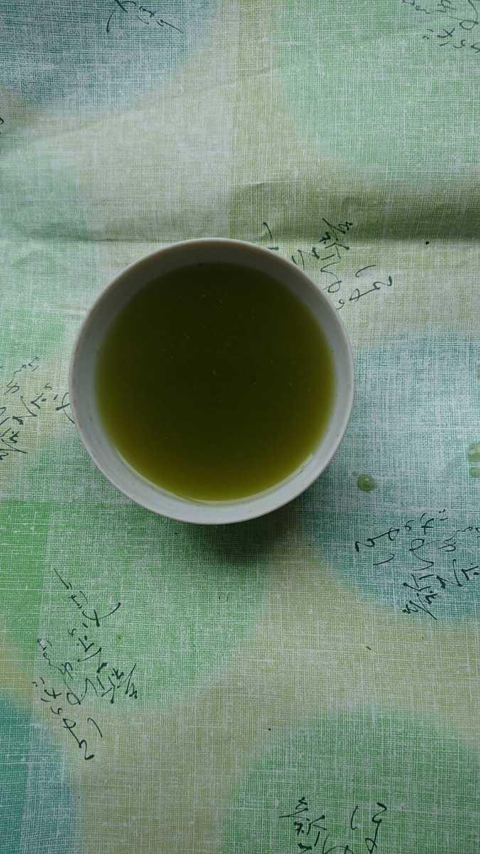静岡県産 深蒸し茶 100g5袋 二番茶 静岡茶 煎茶_画像2