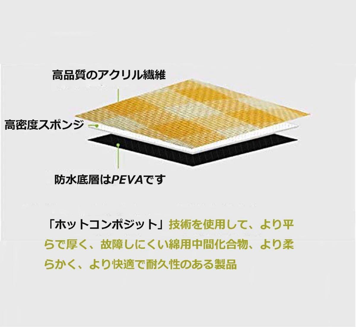 新品★レジャーシート 厚手 2×2m 大判 コンパクト 断熱 防水 洗える 厚手