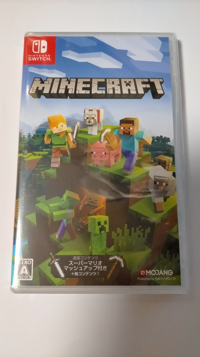 Switch『Minecraft マインクラフト』