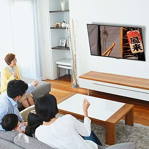 サイズ小型 テレビ壁掛け金具 2655インチ モニター LCD LED液晶テレビ対応 ティルト調節式 VESA対応 最大400x4_画像6