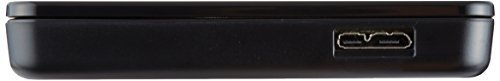 サイズUSB3.0 玄人志向 SSD/HDDケース(ブラック) 2.5型 USB3.0接続 ACアダプター不要/ネジ止め不要/3ス_画像2