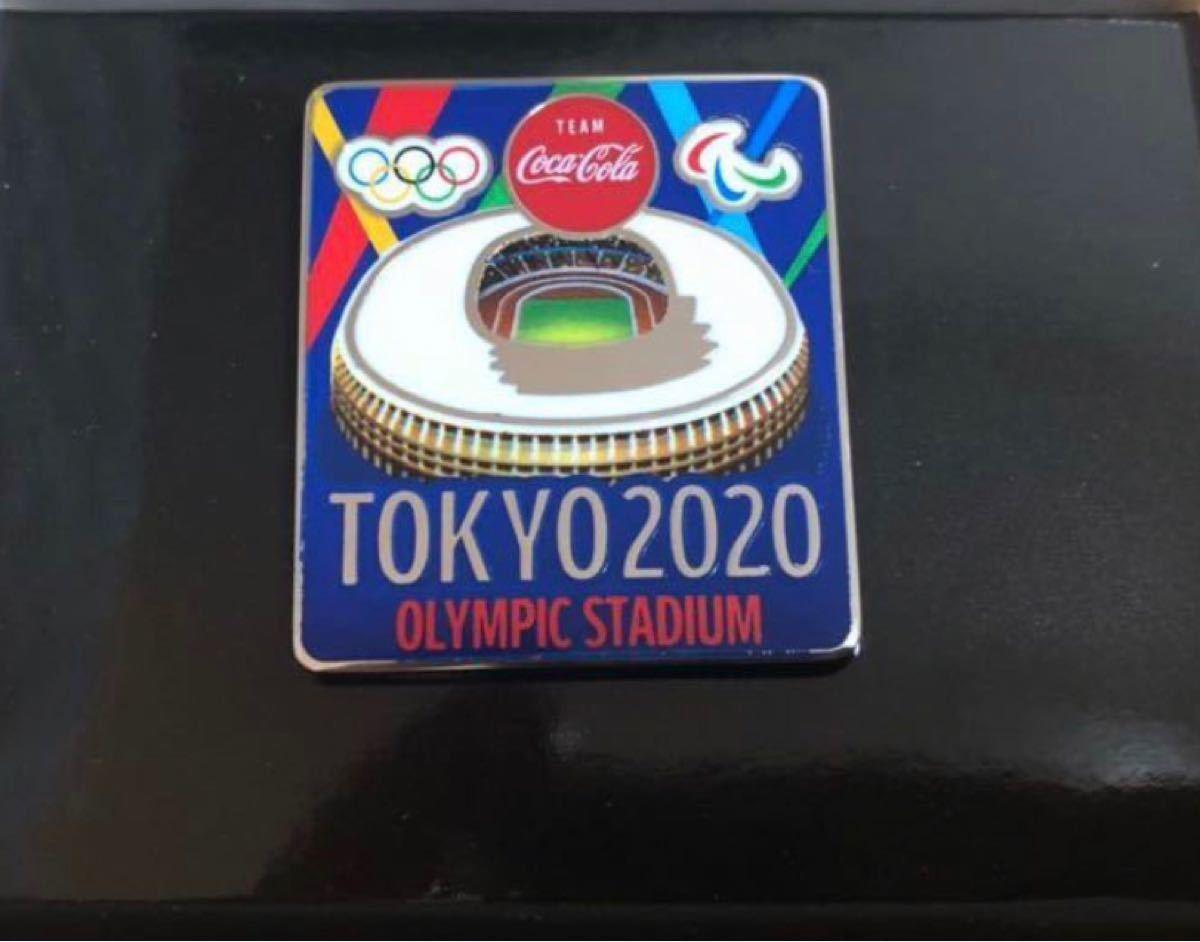 コカ・コーラ 東京オリンピック2020記念ピンバッジ   coke on  オリンピック スタジアム