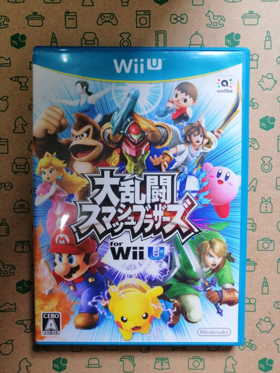 WiiU 大乱闘スマッシュブラザーズfor Wii U