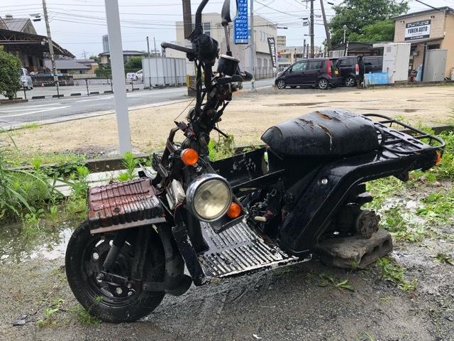 「HONDA ジャイロX 事故車 1994年式 部品取りにいかがですか!全国陸送出来ます。熊本から」の画像1