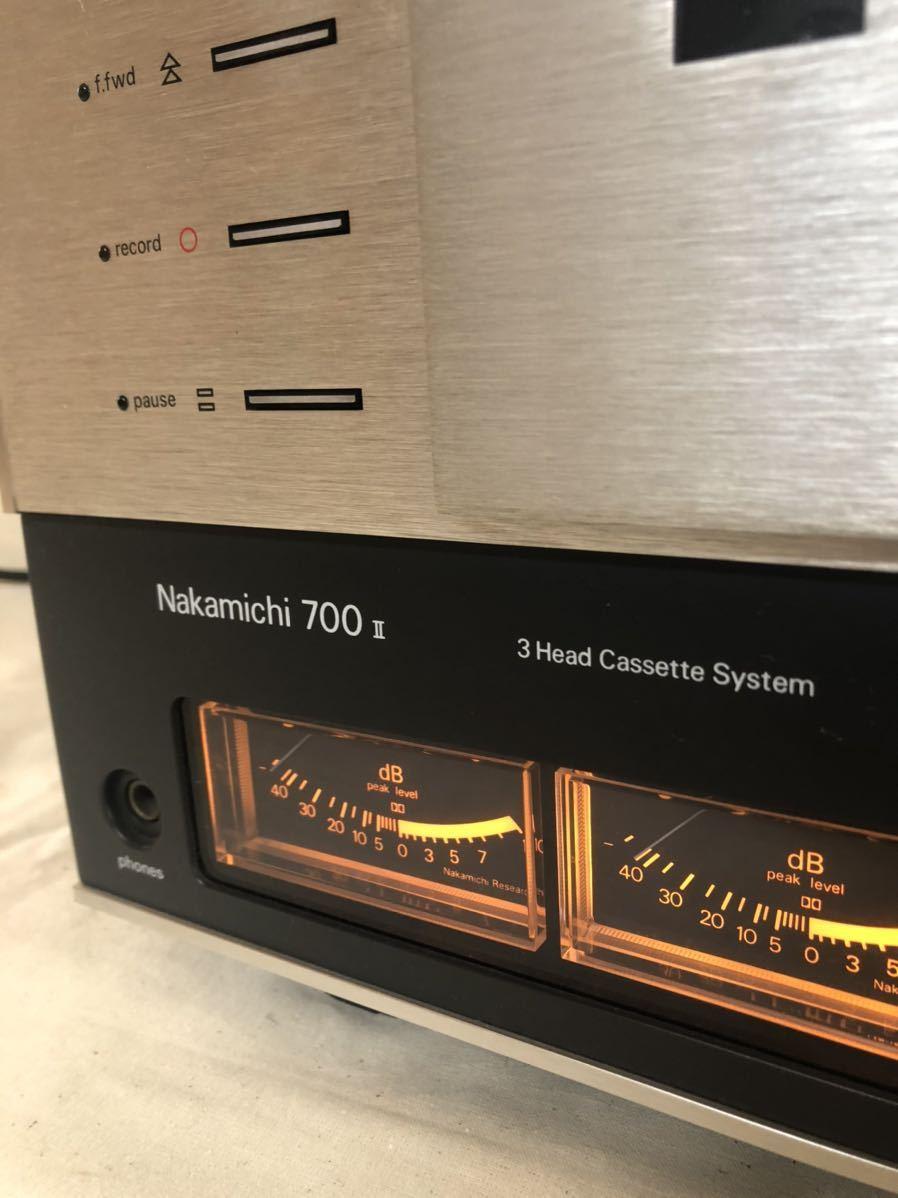 希少:Nakamichi700Ⅱ 3headcassettesystemナカミチ/DENON Yamahaサンスイバング&オルフセンリンマッキントッシュ