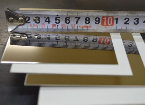 ステン板片面#700研磨品(0.6~2.0mm厚)の(300x200~100x100mm)小型定寸・枚数販売 S11_画像4