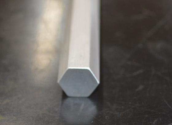 アルミ製 六角棒(A2011相当品)生地材 各サイズ 寸法 切り売り 小口 販売 加工A30_画像2