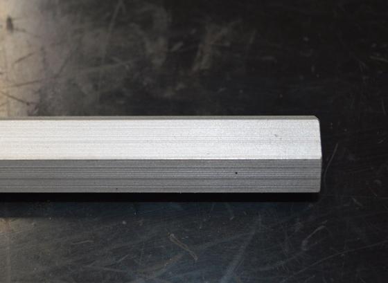 アルミ製 六角棒(A2011相当品)生地材 各サイズ 寸法 切り売り 小口 販売 加工A30_画像3
