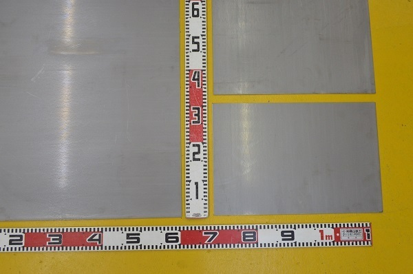 鉄 酸洗い鋼板(黒皮除去)(1.6~6.0mm厚)の(914x600~450x300mm)小型定寸・枚数販売 F11_画像2