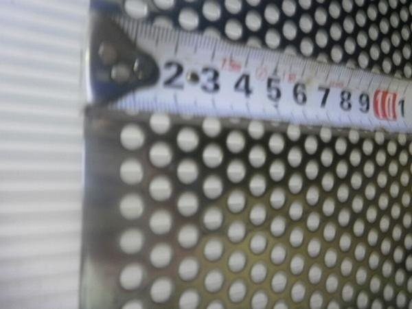 ステンレス パンチング板 各板厚・穴形状材 寸法 切り売り 小口 販売加工 S10_画像2