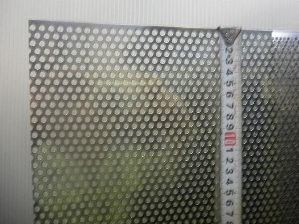 ステンレス パンチング板 各板厚・穴形状材 寸法 切り売り 小口 販売加工 S10_画像3
