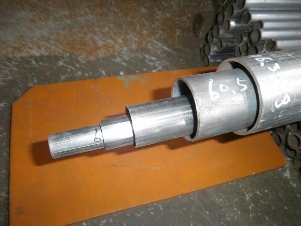 鉄 亜鉛メッキ構造用鋼菅(白STK・STKM)材 各品形状の(1000~100mm)各定寸長での販売F21_画像1