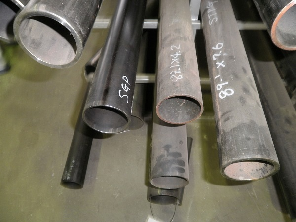鉄 丸パイプ SGP 黒配管用鋼菅 各形状・(1000~100mm)各定寸長さでの販売F21_画像5