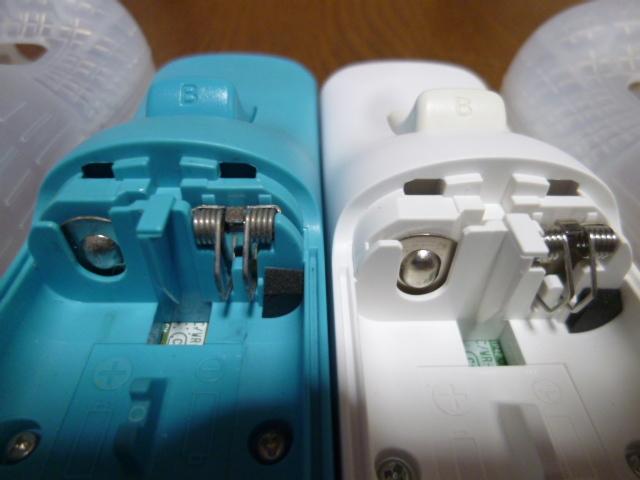 RSJN5【送料無料 動作確認済】Wii リモコン モーションプラス ジャケット ストラップ ヌンチャク ブルー ホワイト 純正品 2個セット