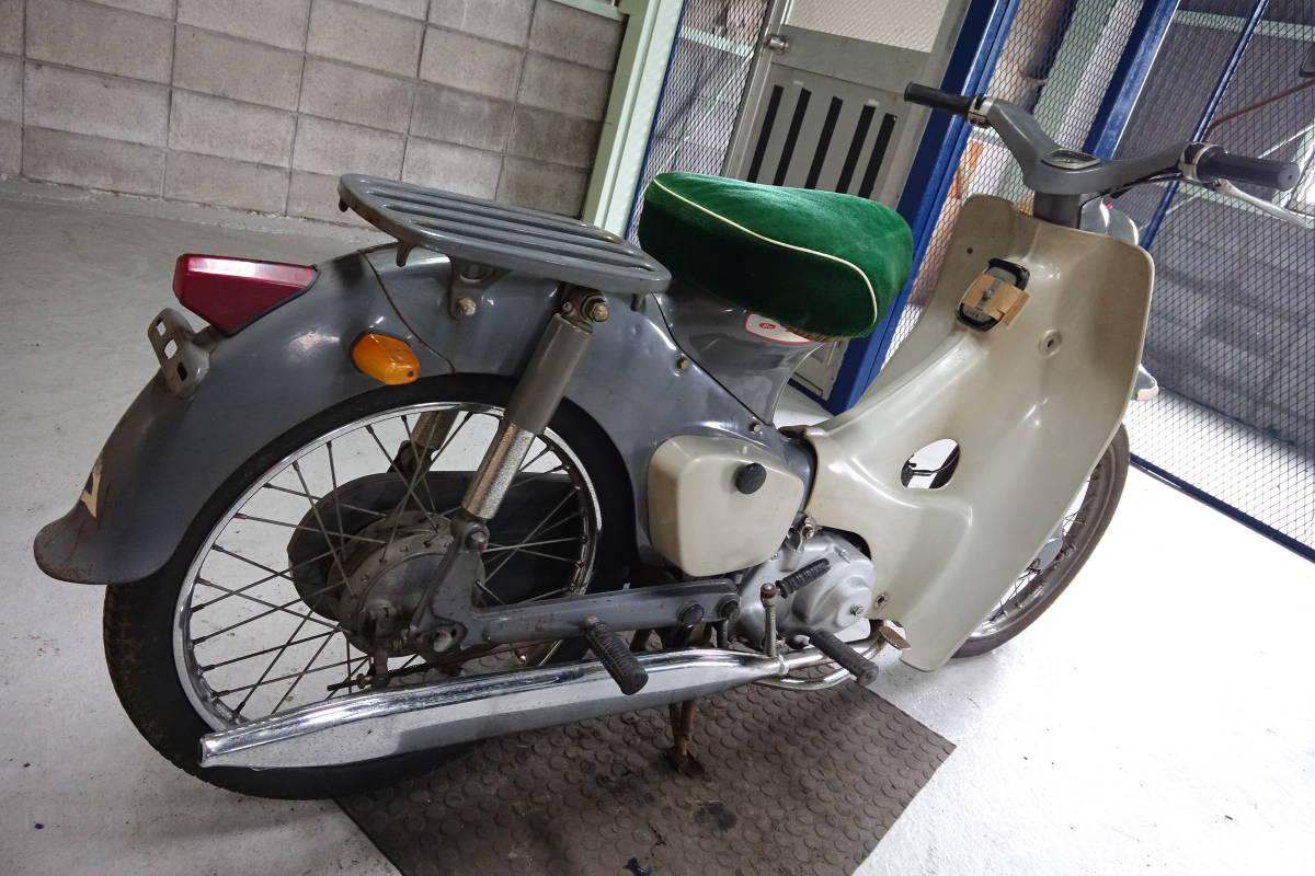 「スーパーカブC105(C105)実動ベース車!希少! 香川高松(大阪枚方)U1507211」の画像3