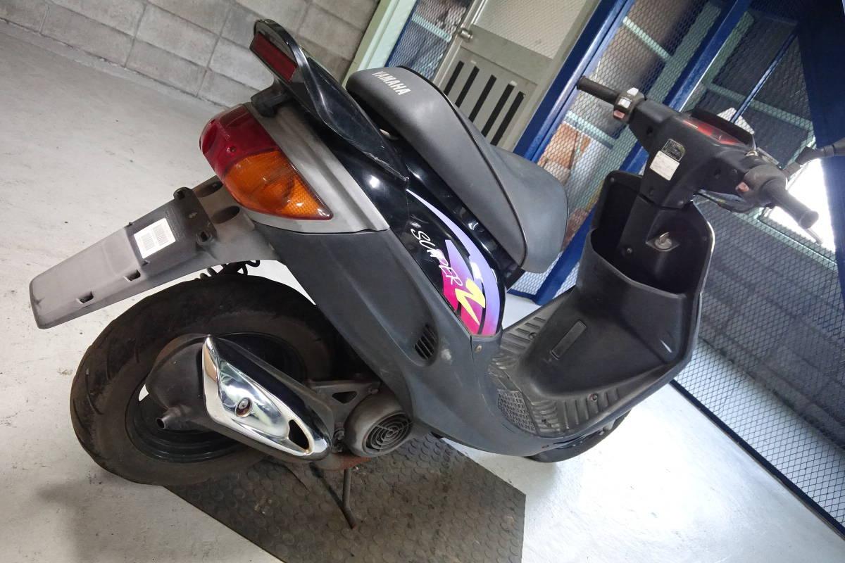 「スーパーJOG Z ジョグZ(3YK)エンジンかかるベース車! 香川高松(大阪枚方)S2607213」の画像3
