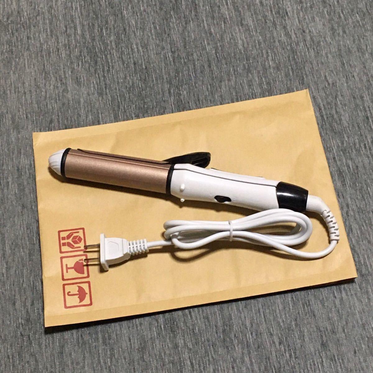 【新品】ヘアアイロン ストレート カール 2way 26mm コテ 速暖