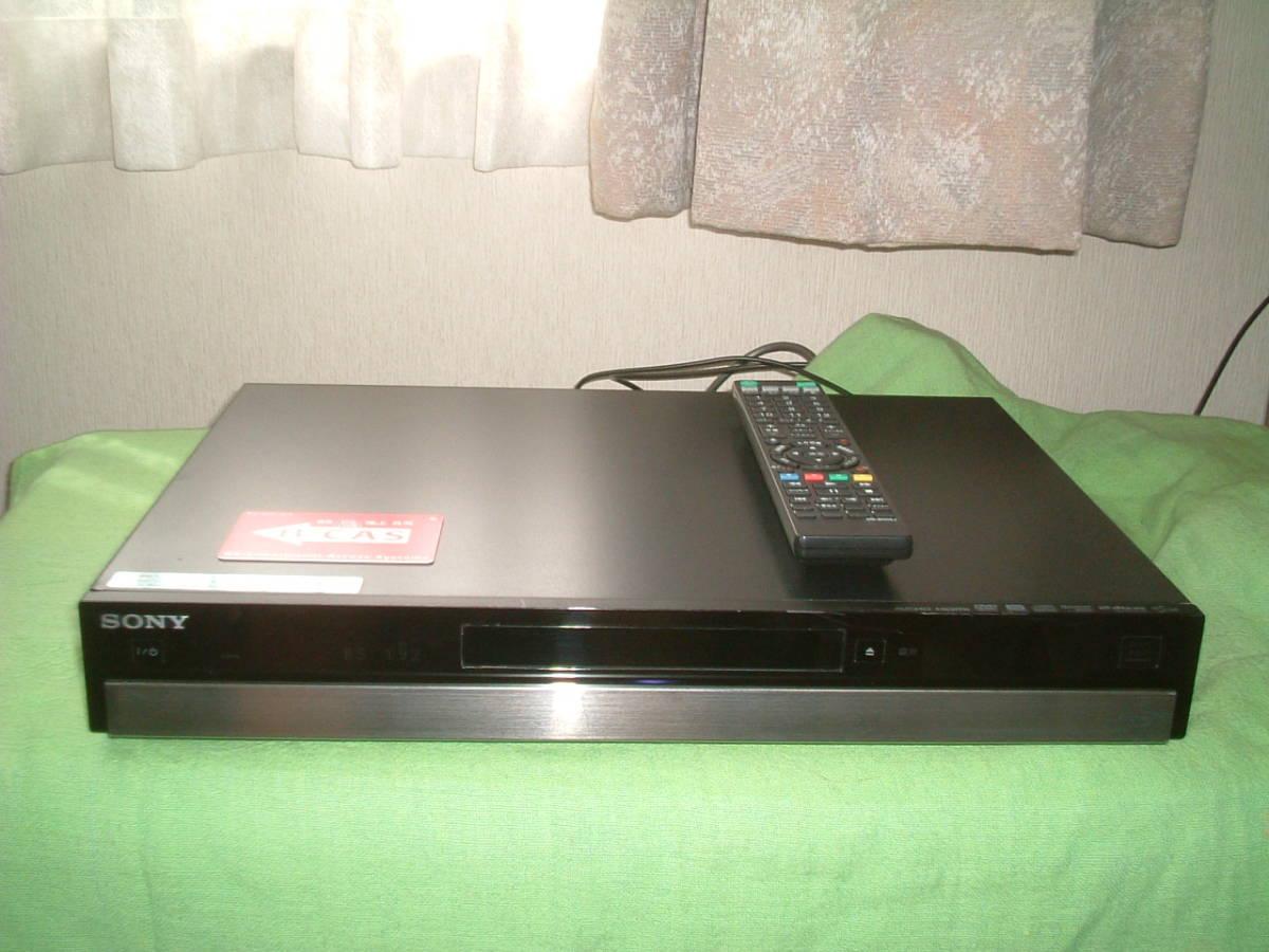 1ヶ月保証 ソニー BDZ-RS10  HDD/DVD/ブルーレイ/ レコーダー   新品リモコン B-CASカード付き_画像1