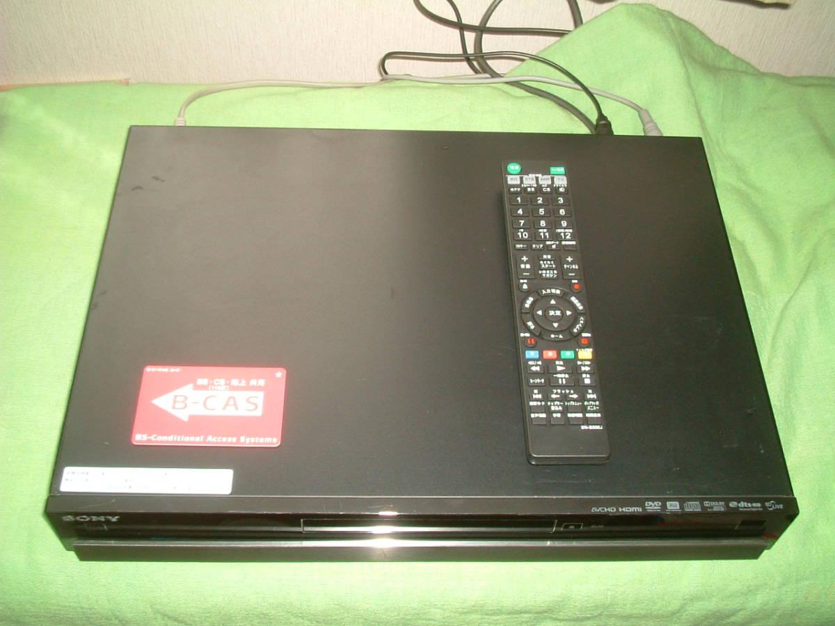 1ヶ月保証 ソニー BDZ-RS10  HDD/DVD/ブルーレイ/ レコーダー   新品リモコン B-CASカード付き_画像2