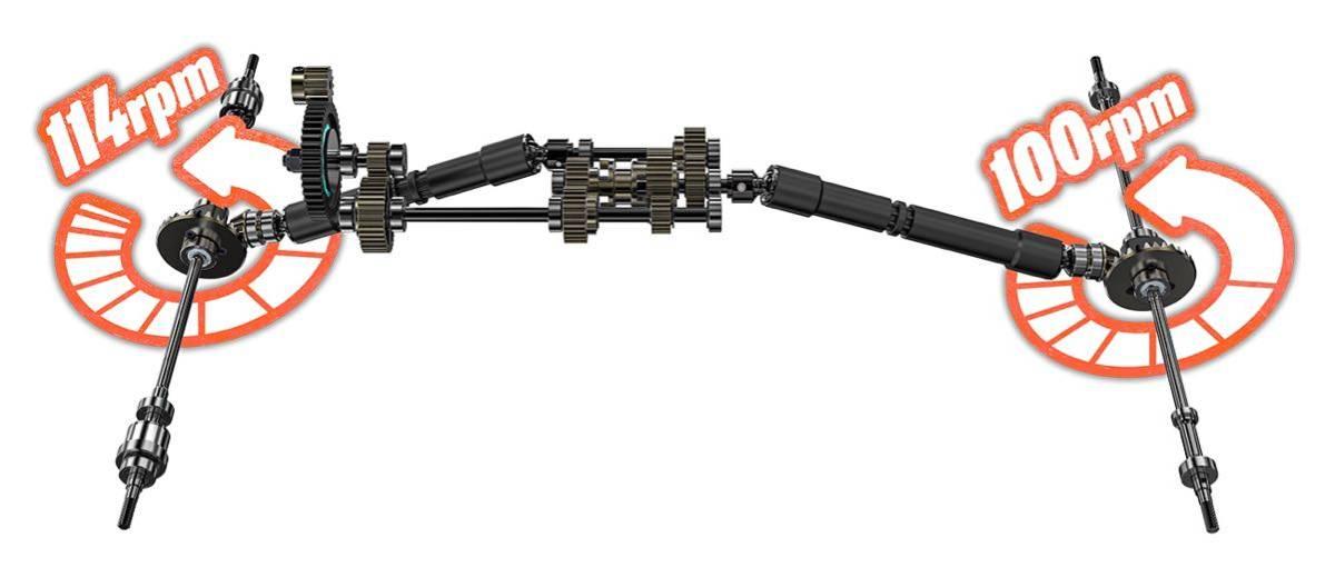 国内発送 新型 GMade GS02F Komodo ボディー Kit クローラー 検索: axial traxxas CR-01 CC-02 CC-01 SCX10 TRX
