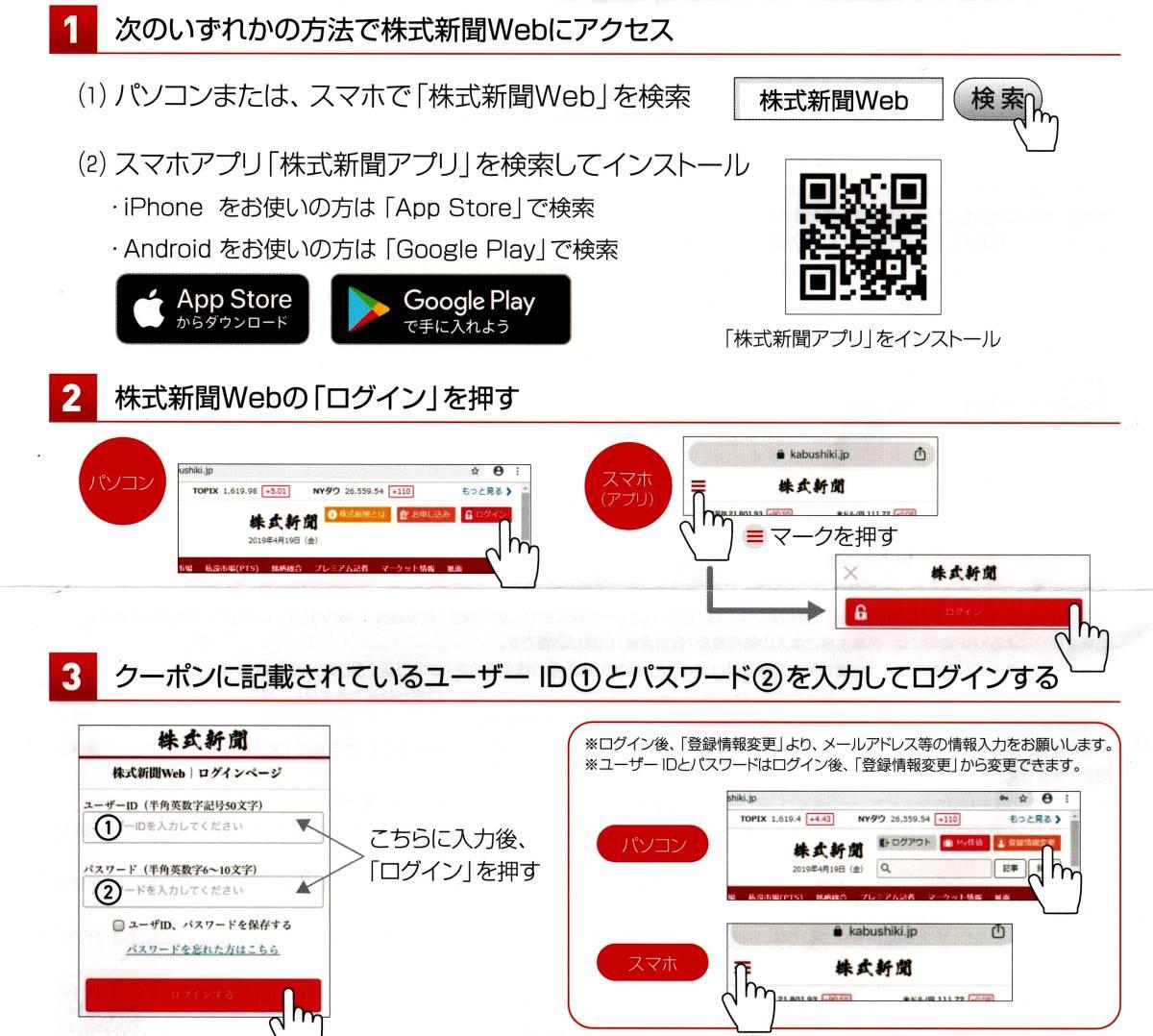 ★モーニングスター 株主優待 株式新聞ウェブ版 6ヶ月無料クーポン★_画像2