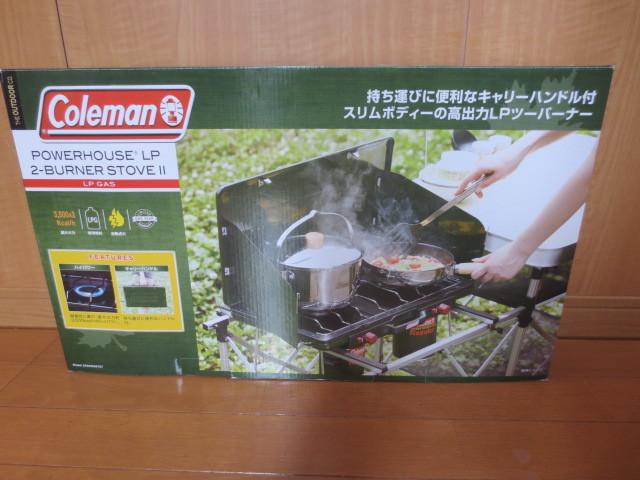 Coleman コールマン バーナー パワーハウスLP 2バーナーストーブ2 2000006707 未使用