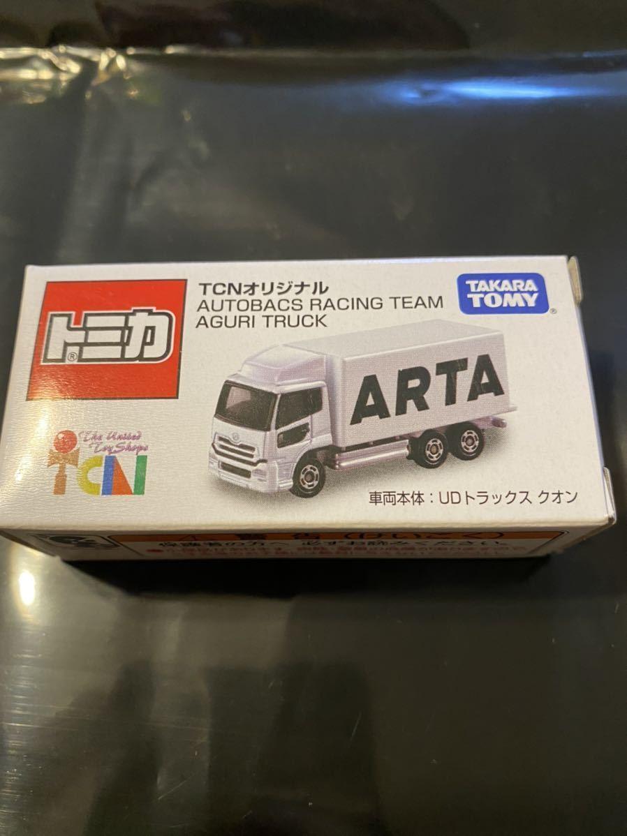 1円スタート! 即決あり! トミカ UDトラックスクオン TCNオリジナル AUTOBACS RACING TEAM AGURI TRUCK ARTA 限定 新品