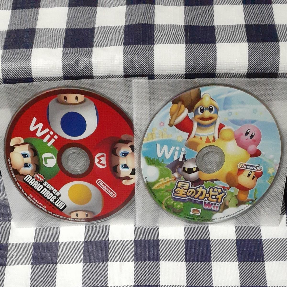 ニュー・スーパーマリオブラザーズ+星のカービィ Wii