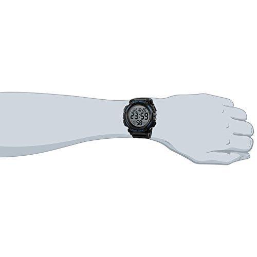 ブルー Timever(タイムエバー)デジタル腕時計 メンズ 防水腕時計 led watch スポーツウォッチ アラーム ストッ_画像4