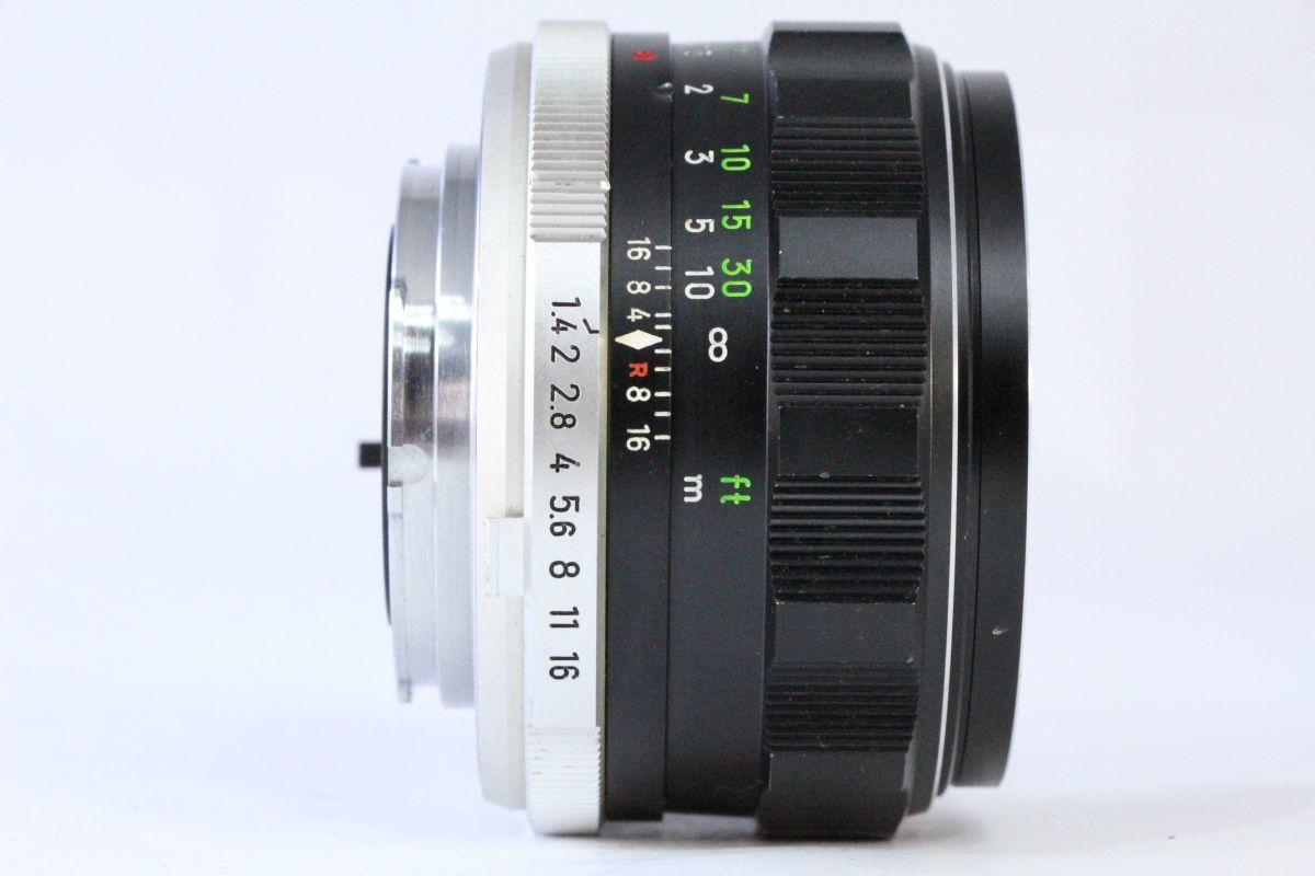 光学綺麗★ミノルタ MINOLTA MC ROKKOR-PF 58mm F1.4★ピントリングわずかに違和感★13635_画像2