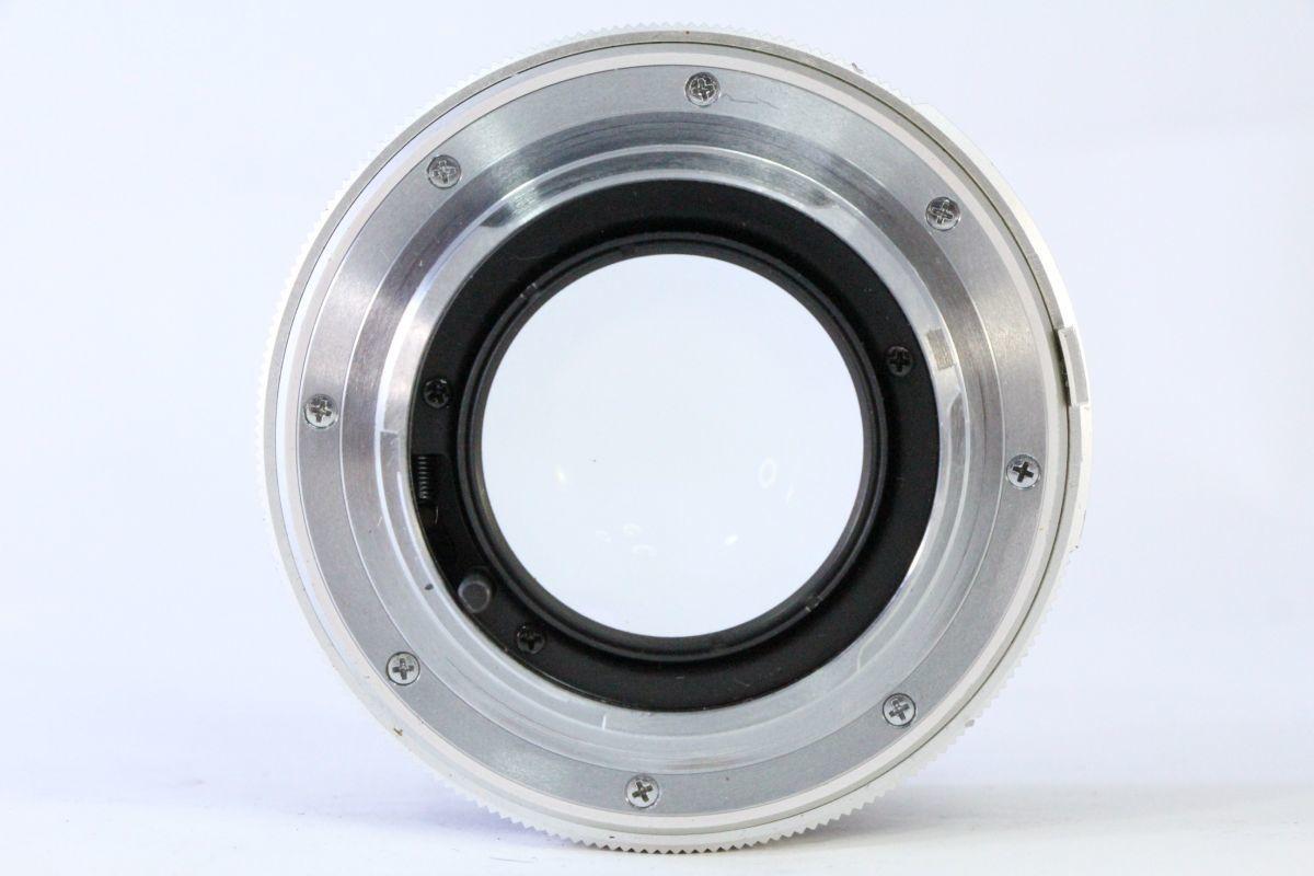 光学綺麗★ミノルタ MINOLTA MC ROKKOR-PF 58mm F1.4★ピントリングわずかに違和感★13635_画像3
