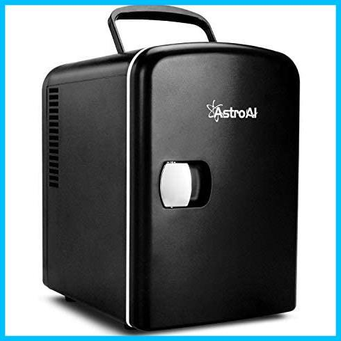 [特価] AstroAI 冷蔵庫 小型 ミニ冷蔵庫 小型冷蔵庫 保温 冷温庫 4L 無負荷2-60°C ポータブル 化粧品 家庭 車載両用 保冷 2電源式_画像1