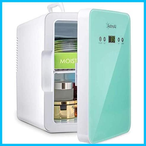 [特価] AstroAI 冷蔵庫 小型 ミニ冷蔵庫 小型冷蔵庫 冷温庫 2℃~60℃温度調整可能 6L 化粧品 小型でポータブル 家庭 車載両用 保温 保冷_画像1