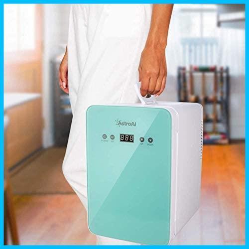 [特価] AstroAI 冷蔵庫 小型 ミニ冷蔵庫 小型冷蔵庫 冷温庫 2℃~60℃温度調整可能 6L 化粧品 小型でポータブル 家庭 車載両用 保温 保冷_画像7