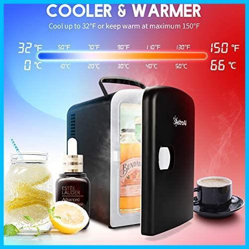 [特価] AstroAI 冷蔵庫 小型 ミニ冷蔵庫 小型冷蔵庫 保温 冷温庫 4L 無負荷2-60°C ポータブル 化粧品 家庭 車載両用 保冷 2電源式_画像3