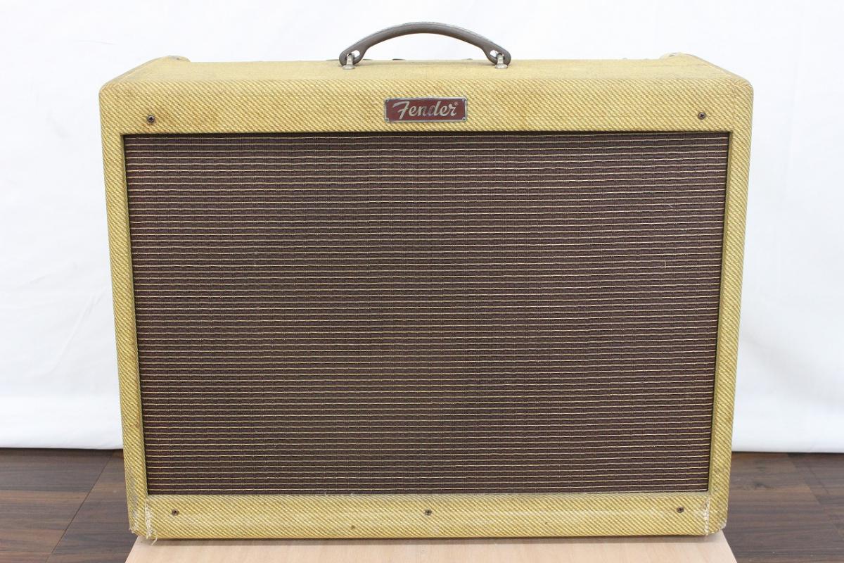 【行董】 Fender Blues Deluxe Tweed フェンダー アンプ 真空管 PR246 ※ゆうパック着払い※ AZ023BOT64