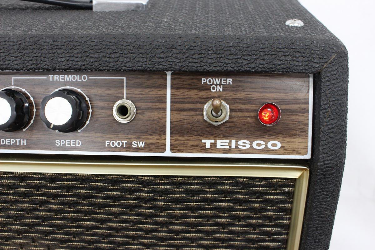|【行董】 TEISCO テスコ TS-30 ギターアンプ アンプ 通電動作確認済み AZ023BO…