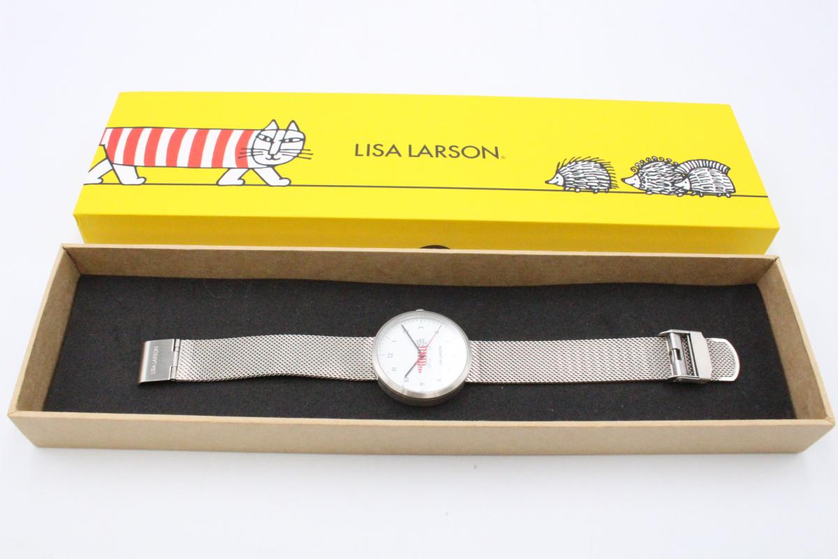 |【行董】LISA LARSON リサラーソン 腕時計 クォーツ Tag dig tid LL101…
